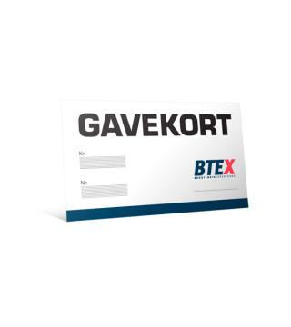 BTEX Gavekort