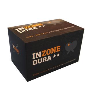 Inzone Dura ** bordtennisbolde. 72 stk.