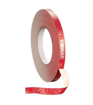 """Tibhar Kantbånd """"Evolution Red"""". 5 m / 12 mm"""