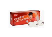 Double Happiness D40+ *** ITTF. Pakke med 10 bolde