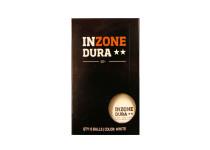 Inzone Dura ** bordtennisbolde. 6 styk.